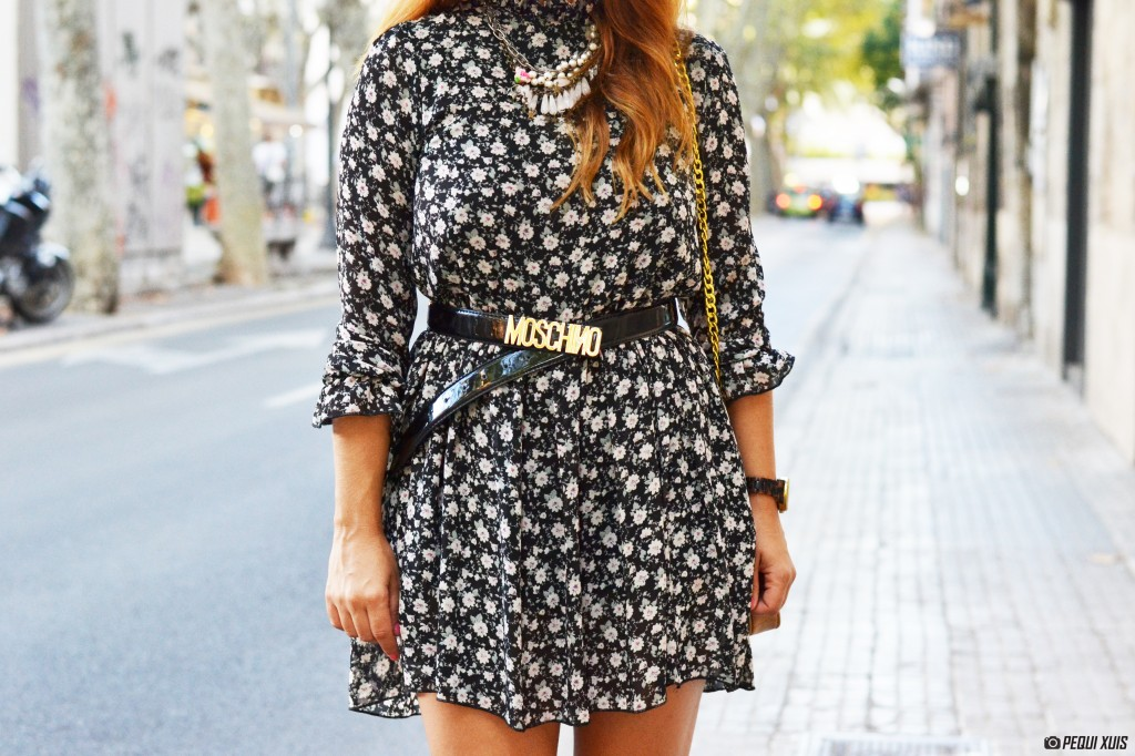 outfit vestido flores, the code