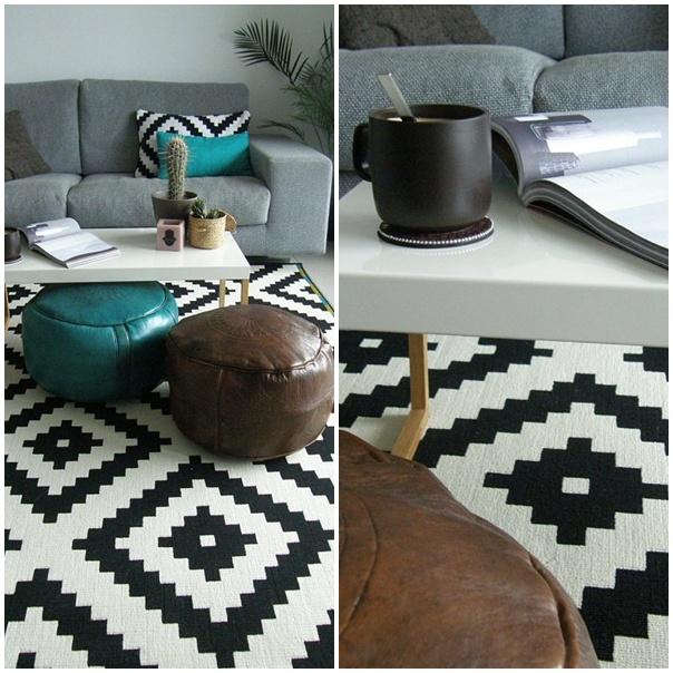 La alfombra ikea de las bloggers lappljung ruta for Ikea alfombra azul
