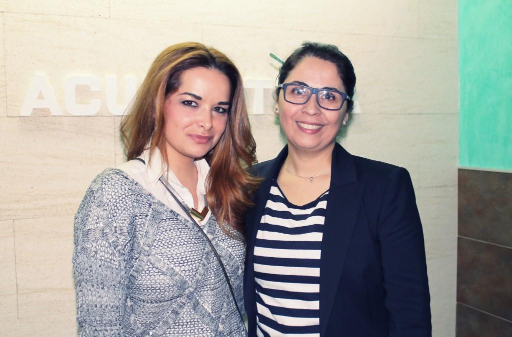Con Patricia Miranda