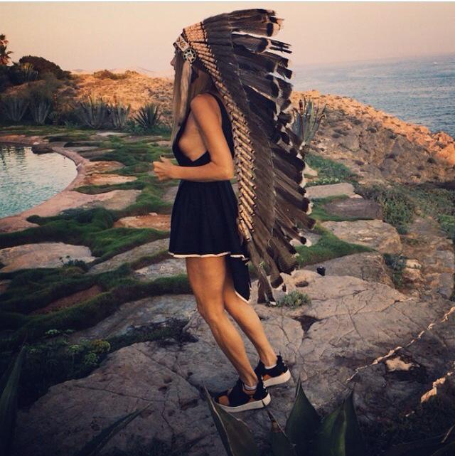 tocado plumas 2