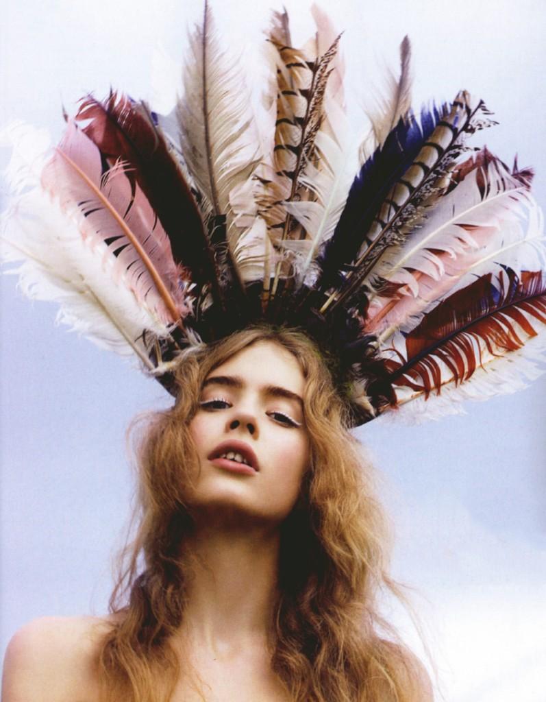 tocado plumas 8