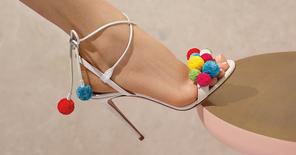 pompom shoes