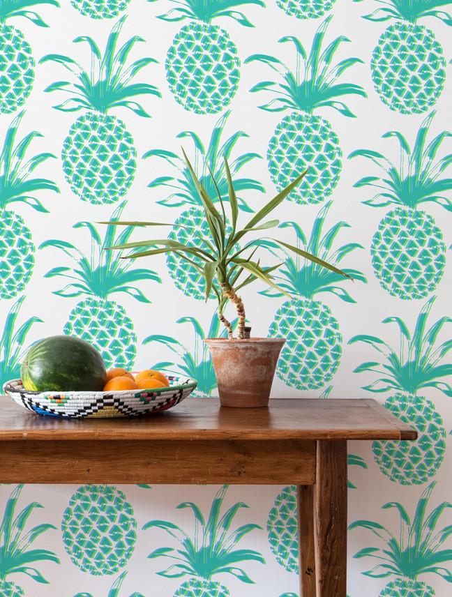 pineapple deco aurora vega. Black Bedroom Furniture Sets. Home Design Ideas
