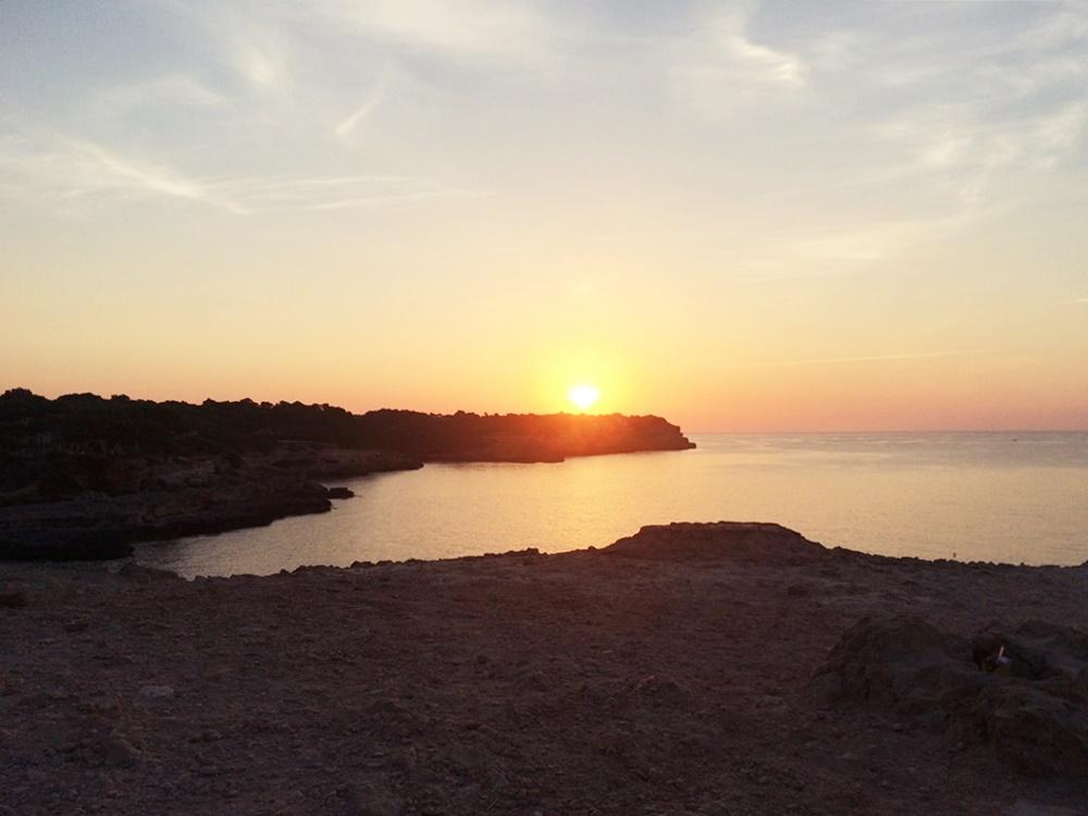 Planes En Mallorca Amanecer En Cala Mondrag 243 Aurora Vega