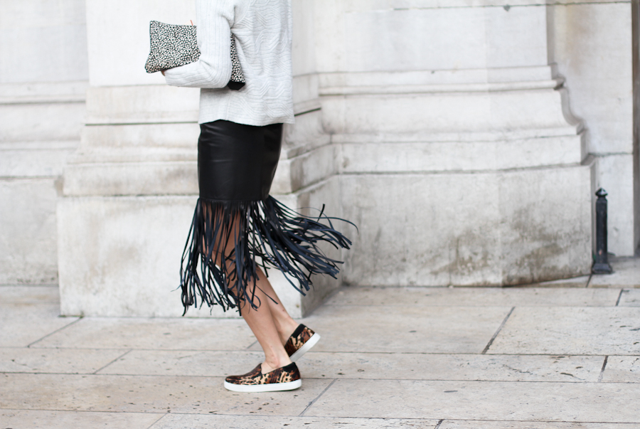 falda flecos street style2