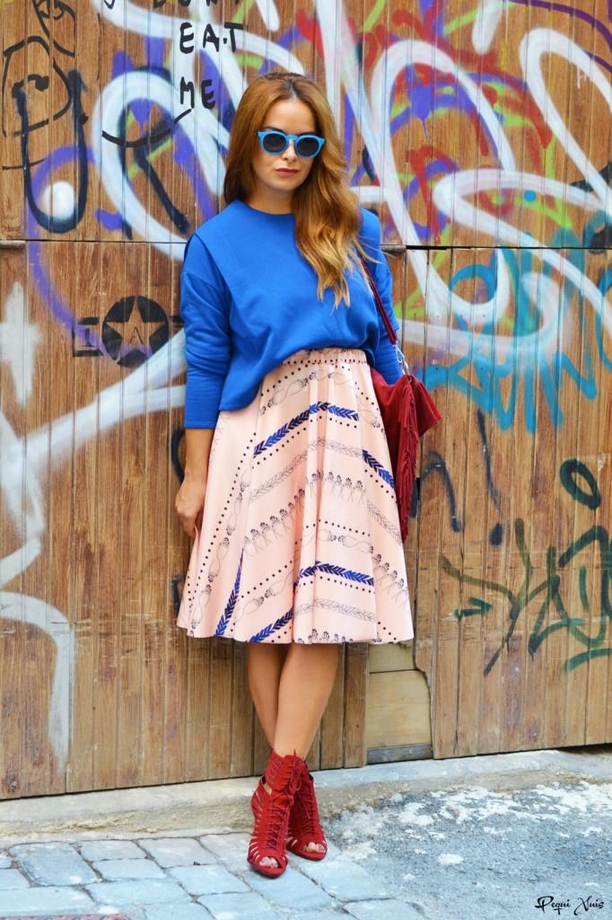 outfit falda rita row, renew store
