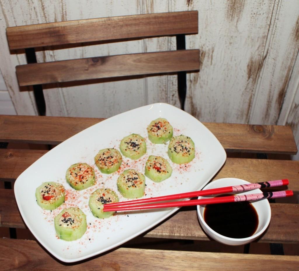 sushi de pepino