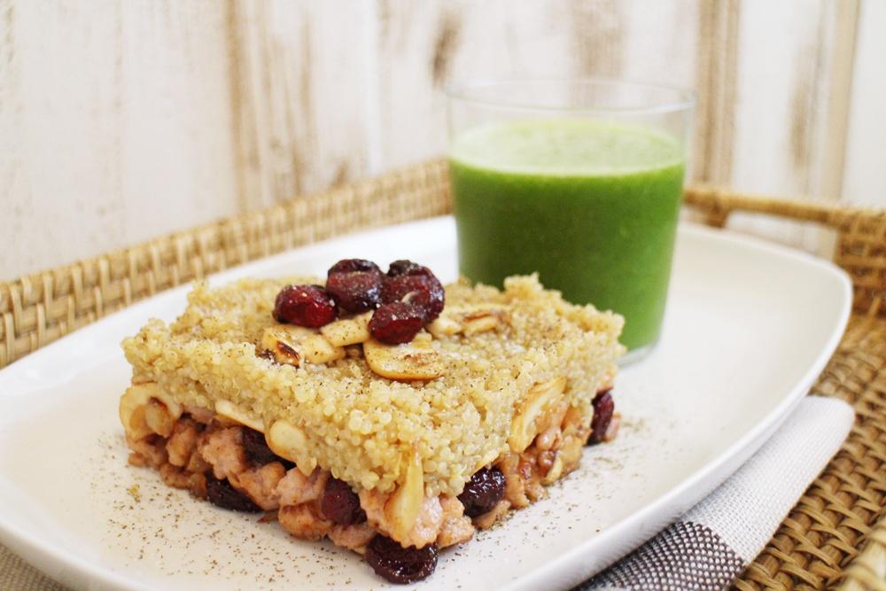 Ensalada americana de quinoa