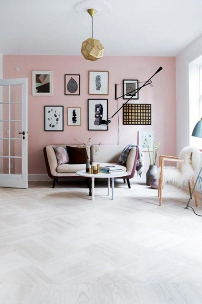 decoración negro y rosa 7
